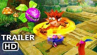 PS4 - Crash Bandicoot N. Sane Trilogy Gameplay (20 Minutes)