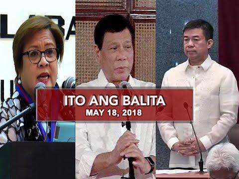 UNTV: Ito Ang Balita (May 18, 2018)