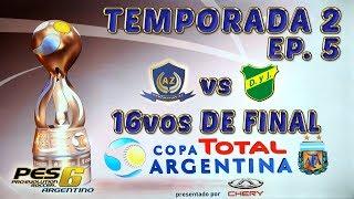16vos DE FINAL - COPA ARGENTINA PES 6 &quotLIGA MASTER&quot DEP. AZ T2 #5