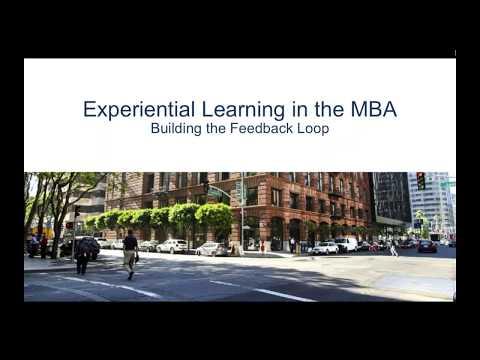 Webinar: Experiential Learning, Building the Feedback Loop