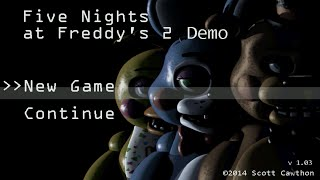 - Five Nights at Freddy s 2 Demo Android