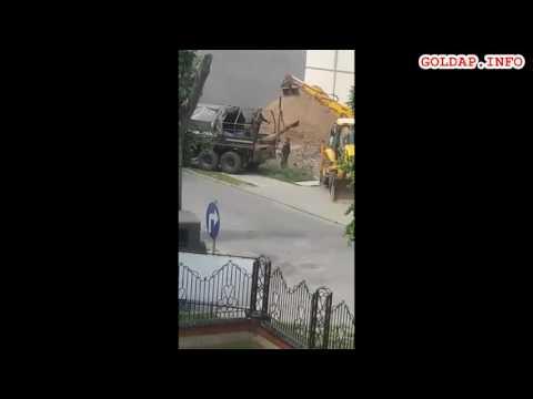 GOŁDAP. Niewybuch przy ul. Jaćwieskiej