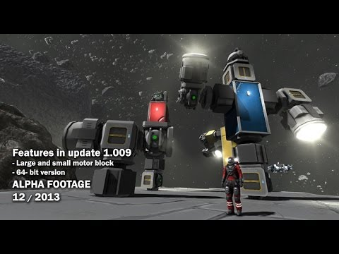 Space Engineers - 64-bit version, large and small Rotor