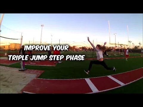 triple jump phase There are three phases of the triple jump: the hop phase, the bound or step phase, and the jump phase these three phases are executed in one continuous sequence.
