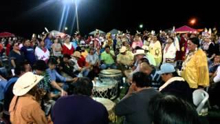 Saturday night live at Ponca powwow 2015
