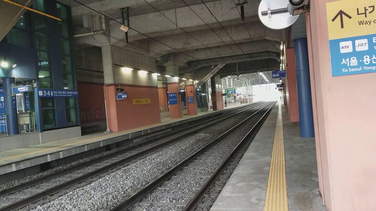 2018/3/18】KR牙山駅セマウル115...