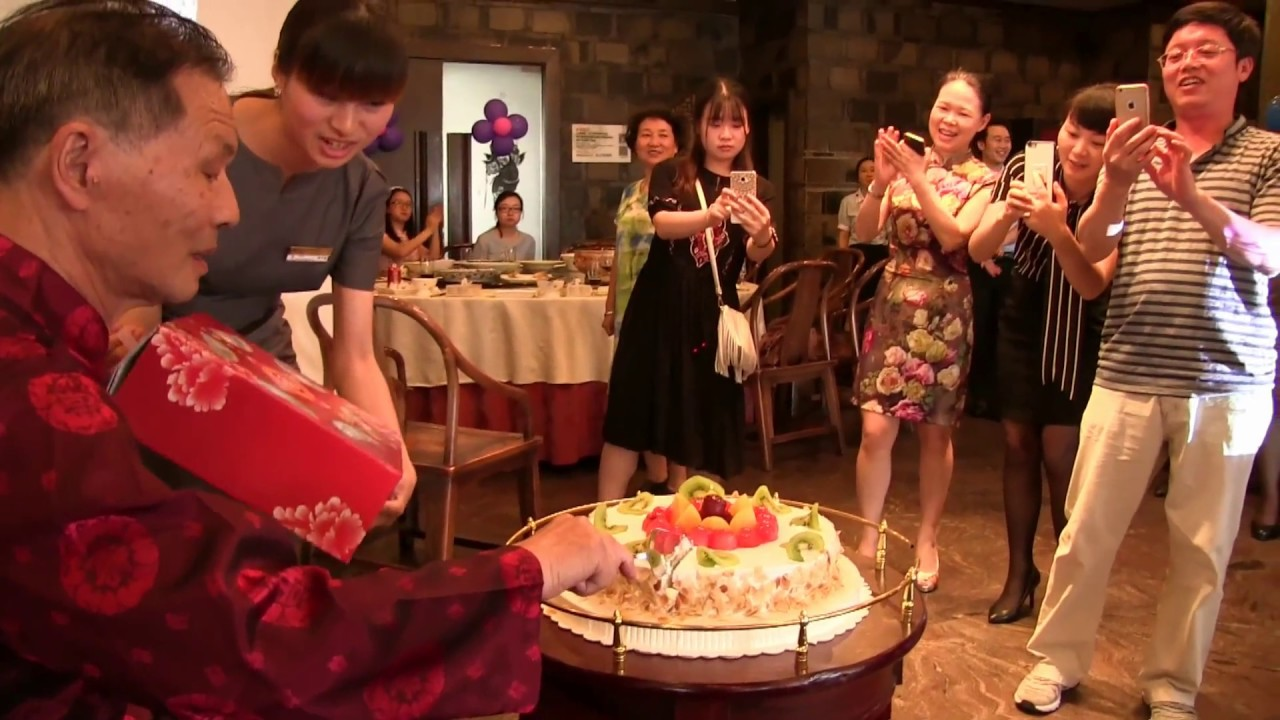 A Chinese 80 Years Old Birthday Party