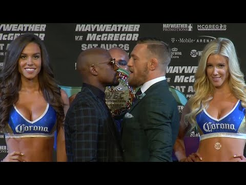 Thumbnail: Floyd Mayweather and Conor McGregor's final press conference before the fight | Mayweather vs McGreg