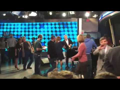 GOOD MORNING AMERICA BEHIND THE SCENES WITH JEFF KINNEY, DAVID FOSTER AND NEYO