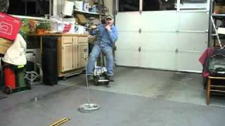 Garage Riding Motorized Bar Stool