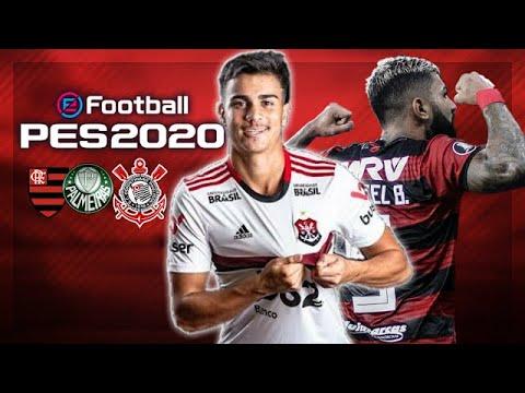 PES 2020 OFFLINE KITIS 100% ATUALIZADO/MOD FLAMENGO, CÂMERA DE PS4