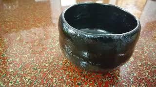 NO.141 大野九行作の黒楽茶碗ってこんなの