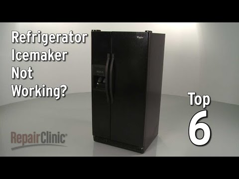 "Thumbnail for video ""Top 6 Reasons Refrigerator Ice Maker Isn't Working?"""