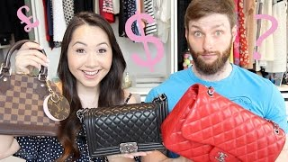 BOYFRIEND GUESSES THE PRICE OF DESIGNER HANDBAGS