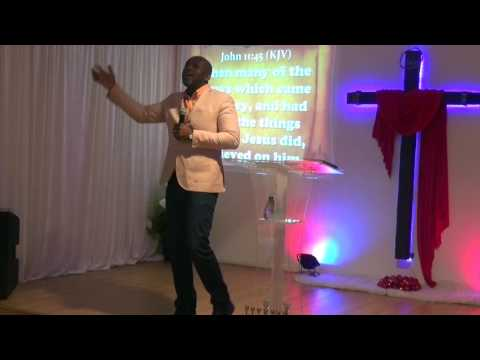 "John 12 Action Chapel Sweden   ""Let's Us Kill Jesus""  Apostle Cobi Washington"