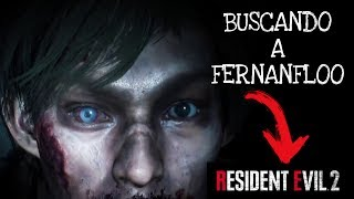 RESIDENT EVIL 2  REMAKE - BUSCANDO A ZOMBIE FERNANFLOO Y TERMINANDO JUGANDO FREE FIRE!