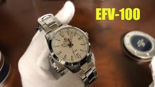 Unboxing Casio Edifice EFV100D-7AV Watch EFV-100D-7AV