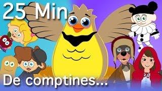 Alouette gentille alouette  + 12 comptines et chansons - compilation 25 Min.