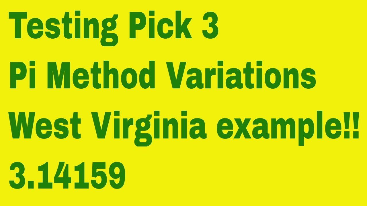 Pick 3 Western