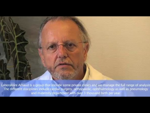 Dr. Laudat Discusses The Benefits Of WASP At Laboratoire Arnaud In Tours France