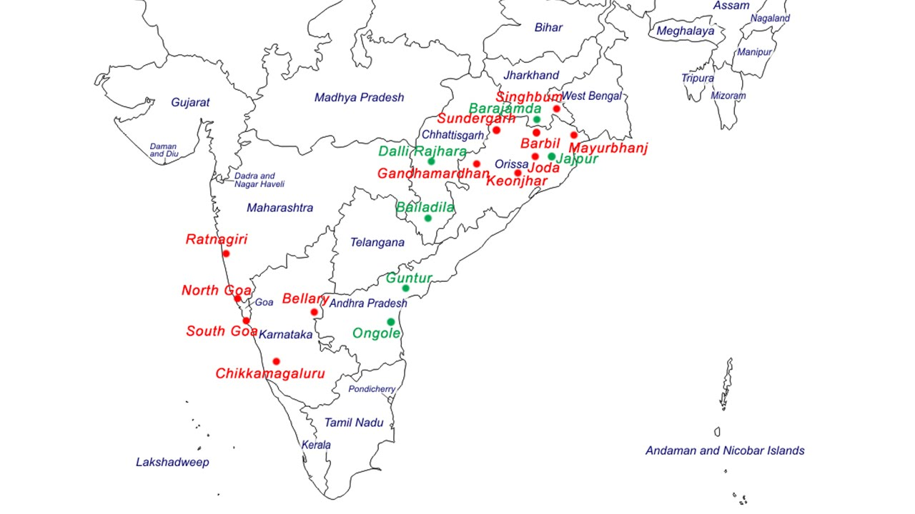 Where Are The Largest Iron Ore Deposits In India YouTube - Us iron ore deposits map