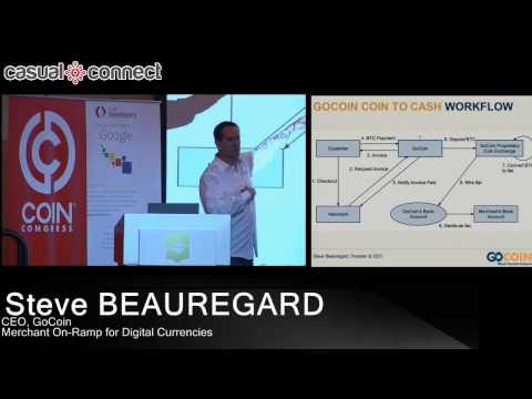 Merchant On-Ramp for Digital Currencies | Steve BEAUREGARD