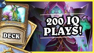 200 IQ PLAYS! - SPITEFUL DRUID - Hearthstone Deck (Rastakhan's Rumble)