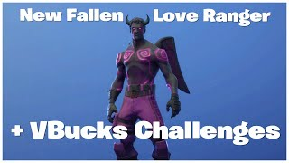 (Dark Ranger) New Fallen Love Ranger Bundle in Fortnite Before You Buy How to Get 2000 V Bucks Free