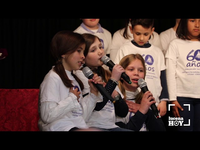 VÍDEO: Los escolares del CEIP Virgen de Araceli cantan en la apertura del acto institucional del 60 Aniversario del centro