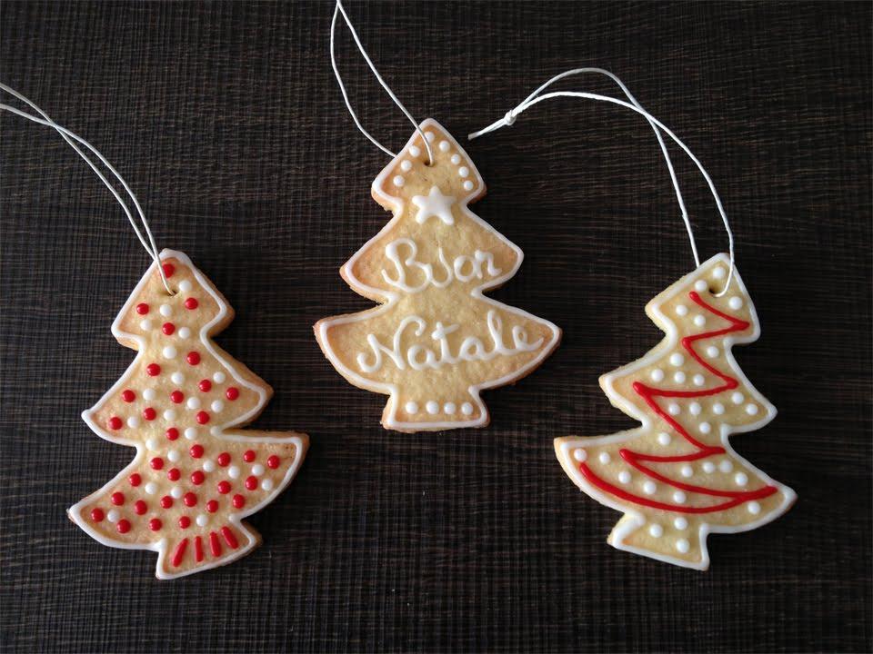 Biscotti Finti Per Albero Di Natale.Biscotti Da Appendere All Albero Di Natale Youtube