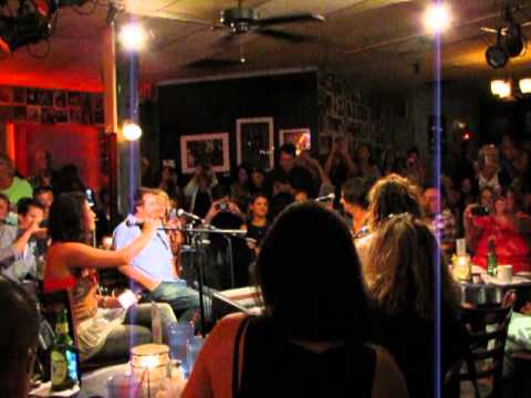 Steven Tyler Surprises Crowd at Bluebird Cafe - Nashville, TN