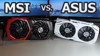 MSI Vs. ASUS: GTX 1060 Comparison
