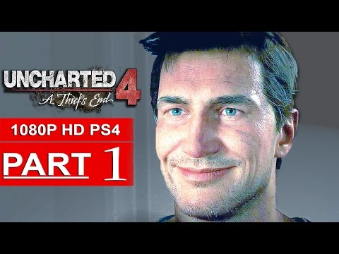 Uncharted 4 Gameplay Walkthrough Part 1 [1080p HD PS4] - No