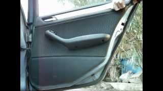 Tutorial Cambiar Elevalunas Bmw  330 E46 (puerta trasera)