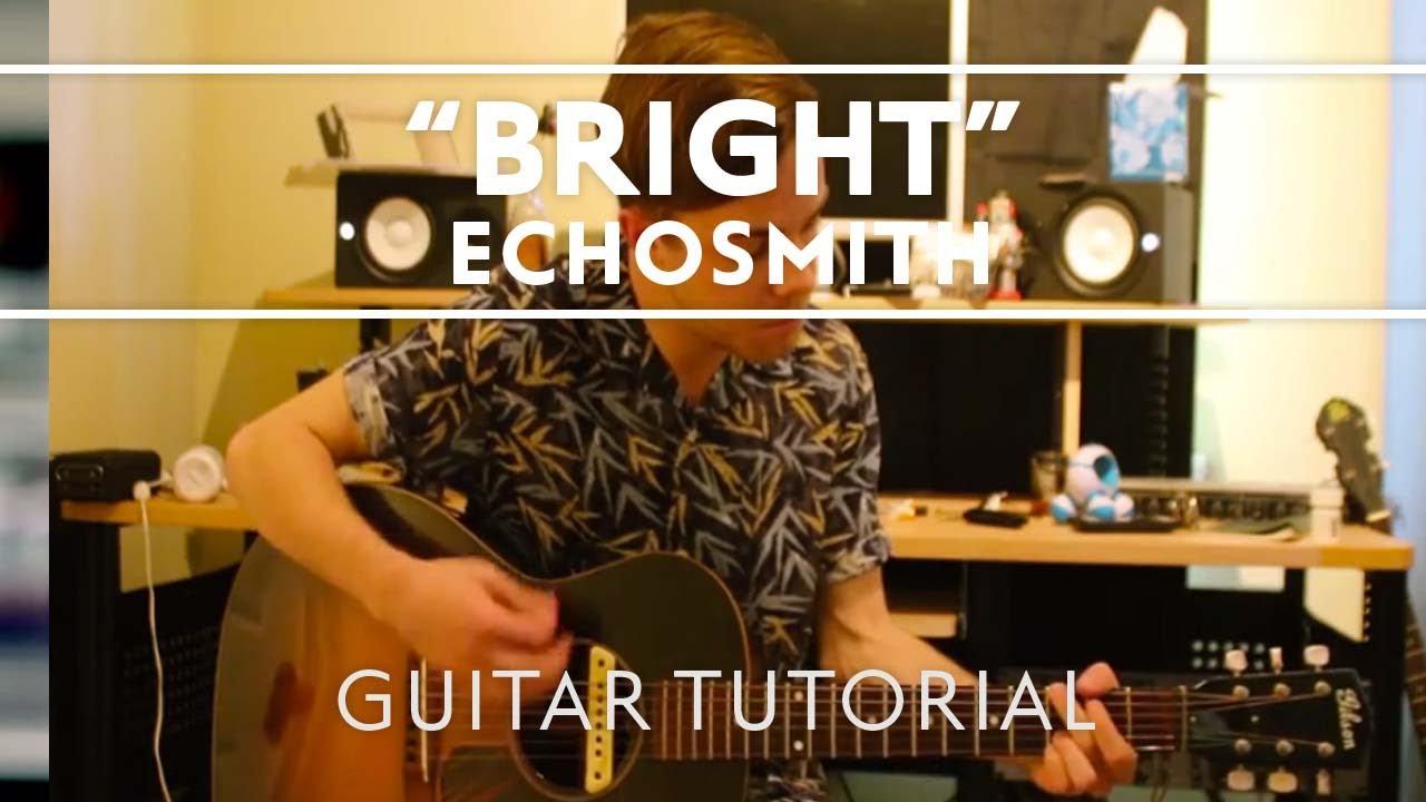partition guitare bright echosmith