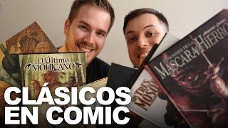 CLÁSICOS DE LA LITERATURA EN CÓMICS | Javier Ruescas y Rush Smith