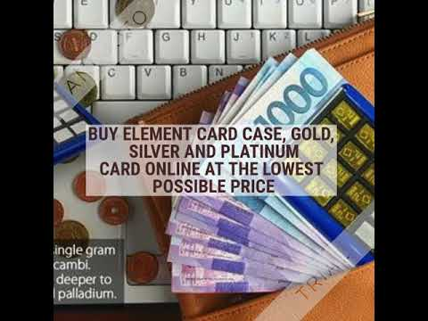 Buy Best Gold Valcambi Bullion Element Card