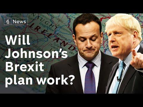 Boris Johnson's Brexit plan 'nearly impossible', says leading EU politician