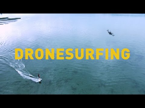 Drone surfing is here and it looks awesome
