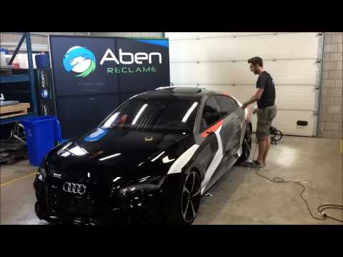 Audi Rs7 Car Wrap