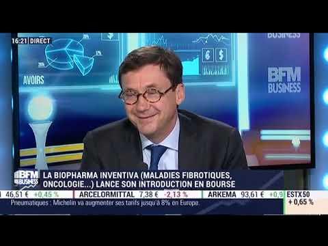 Introduction en bourse de Inventiva, société biopharmaceutique (2017)