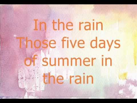 Five Days Of Summer  - Joe Brooks