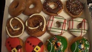 Brad Tries Krispy Kreme Holiday Doughnuts