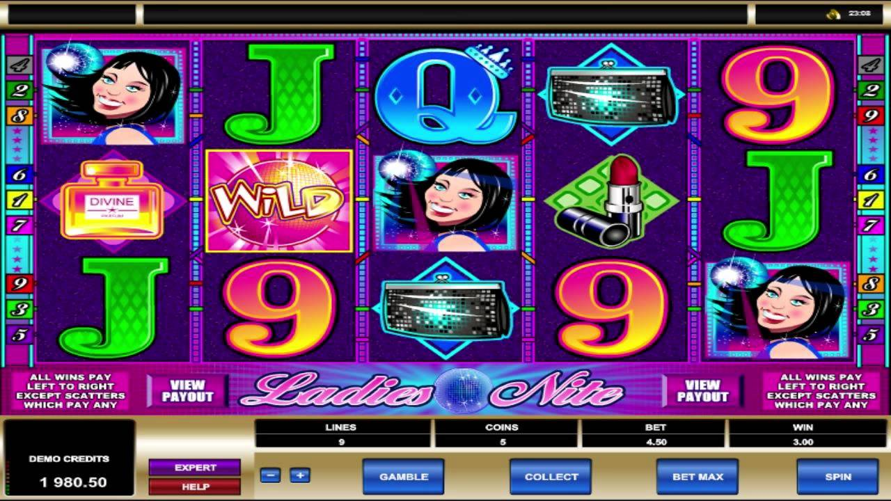 Ladies Nite Slot Machine