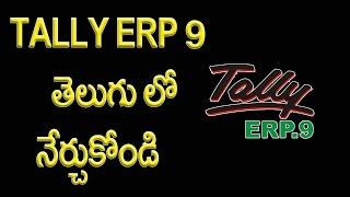 Tally ERP 9 in Telugu Introduction Part 1 | Telugu Tech Tuts