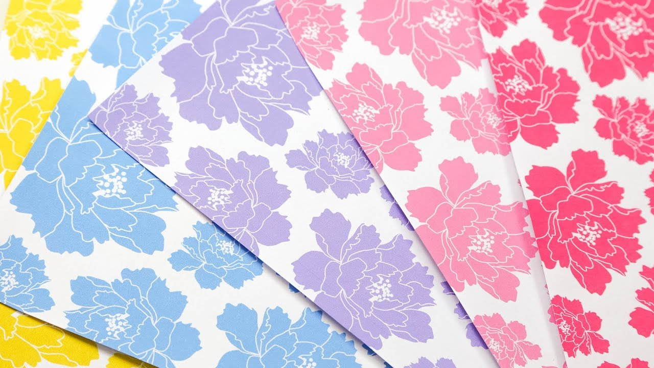 photograph relating to Printable Origami Paper referred to as Free of charge Printable Origami Paper ♥︎ Peony Behavior ♥︎ Paper Kawaii