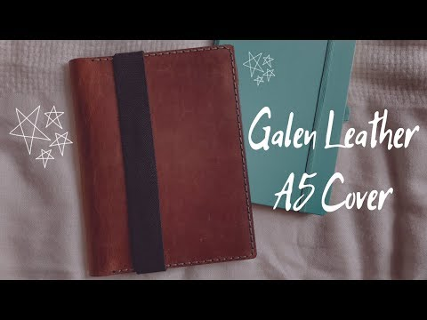 My Newest Galen Leather Purchase!   A5 Journal Cover   The Pixie Planner