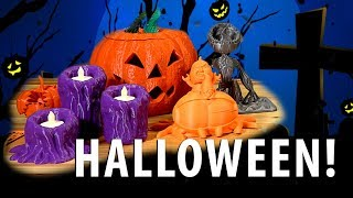 10 Great Halloween 3D Printed Models!