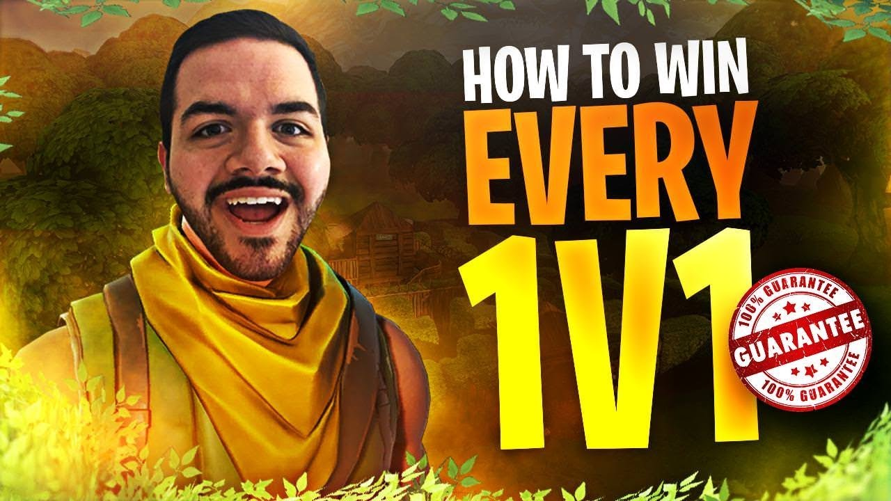 How To Win Every Fortnite 1v1 Stream Highlights