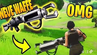 NEUES FORTNITE UPDATE!!! | NEUE WAFFE | (ZAPOTRON SNIPER)FORTNITE BATTLE ROYALE | NEW GUN |ZAPOTRON